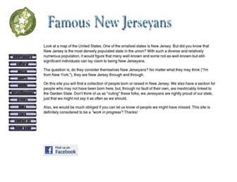 famousnewjerseyans.com screenshot