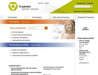 Main page screenshot of mol.fi