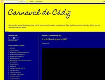 carnavaldecadiz-elio.blogspot.com screenshot