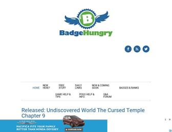 Thumbshot of Badgehungry.com
