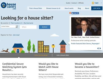 Thumbshot of Housecarers.com