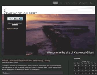 kearwood.com screenshot