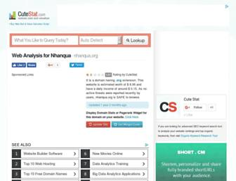 nhanqua.org.cutestat.com screenshot