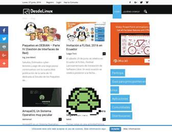 blog.desdelinux.net screenshot