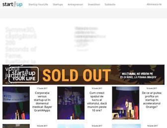 start-up.ro screenshot