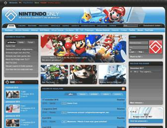 Main page screenshot of nonly.nl