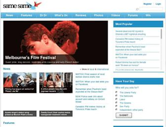 Thumbshot of Samesame.com.au