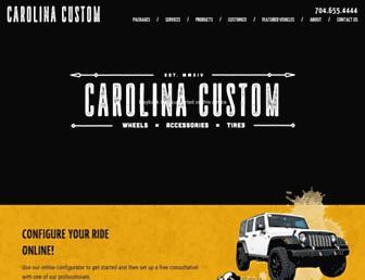 carolinacustomwheels.com screenshot