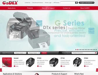 godexintl.com screenshot