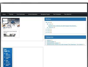 webtutorial101.blogspot.com screenshot