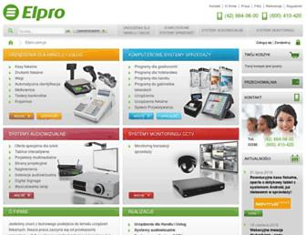 elpro.com.pl screenshot