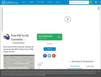 free-pdf-to-all-converter.en.softonic.com screenshot
