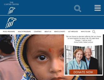 cartercenter.org screenshot