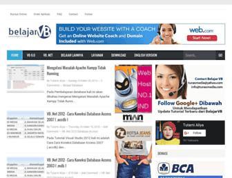 blog.belajarvb.com screenshot