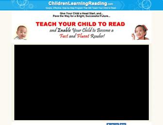 Thumbshot of Childrenlearningreading.com