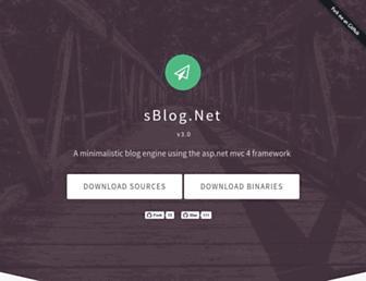 sblogproject.net screenshot