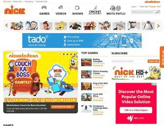 Thumbshot of Nickindia.com