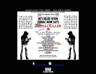 Thumbshot of Zodiackiller.com