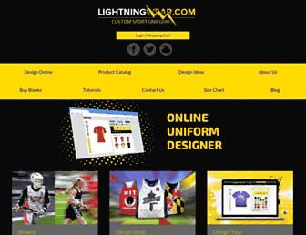 Thumbshot of Lightningwear.com