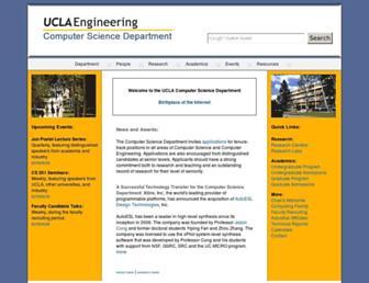 web.cs.ucla.edu screenshot