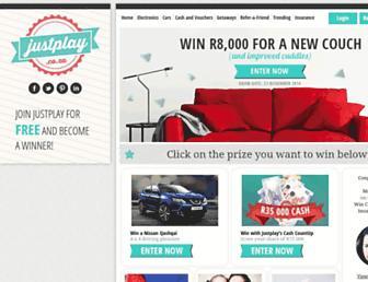 Thumbshot of Justplay.co.za