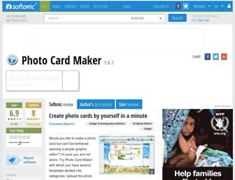 photo-card-maker.en.softonic.com screenshot