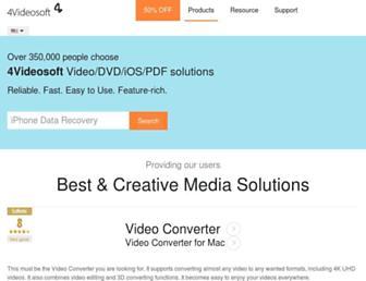 4videosoft.com screenshot