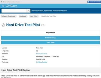 hard-drive-test-pilot.en.lo4d.com screenshot