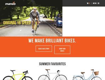 mangobikes.com screenshot