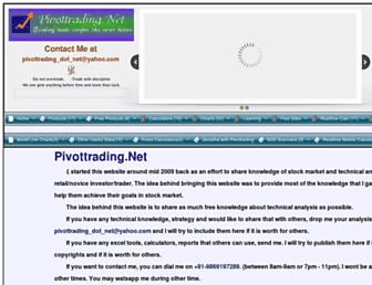 Thumbshot of Pivottrading.co.in