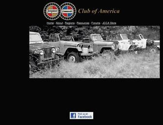 jeepstercommandoclub.com screenshot