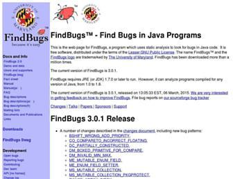 55abf4f9dd40e22fbea3240ba84a30607b95eb09.jpg?uri=findbugs.sourceforge