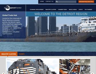 detroitchamber.com screenshot