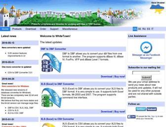 whitetown.com screenshot