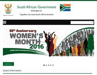 Thumbshot of Www.gov.za