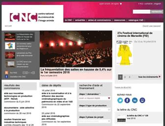 cnc.fr screenshot