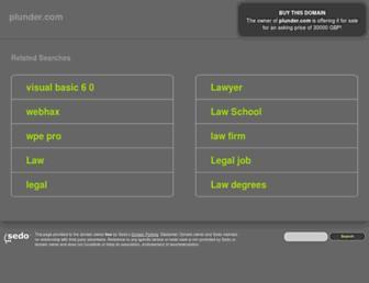 plunder.com screenshot