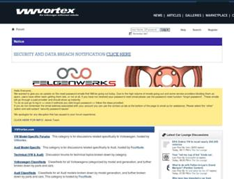 forums.vwvortex.com screenshot