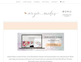 angiemakes.com screenshot