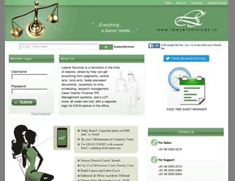 lawyerservices.in screenshot