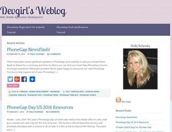 Thumbshot of Devgirl.org