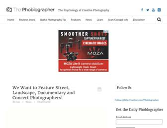 thephoblographer.com screenshot