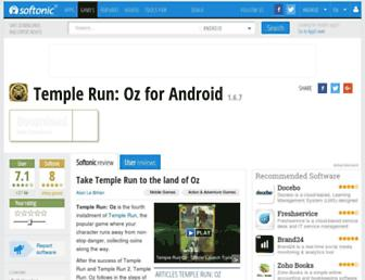temple-run-oz.en.softonic.com screenshot