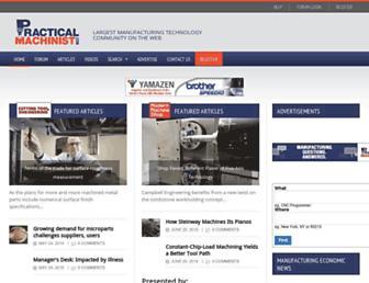 practicalmachinist.com screenshot