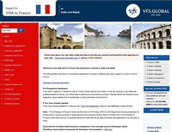 Thumbshot of Vfs-france.co.in