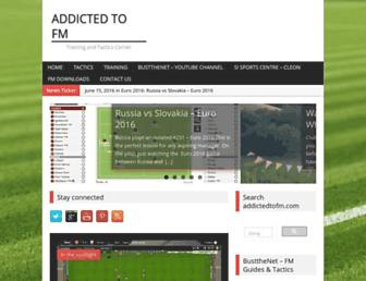 addictedtofm.com screenshot