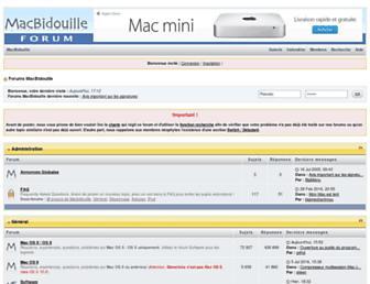 forum.macbidouille.com screenshot