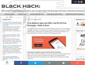blackohack.blogspot.com screenshot