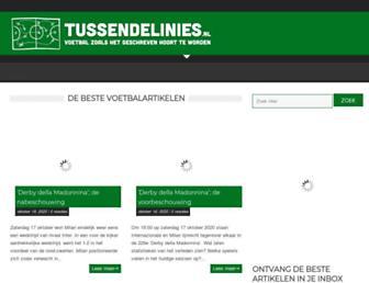 Thumbshot of Tussendelinies.nl