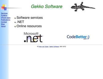 gekko-software.nl screenshot
